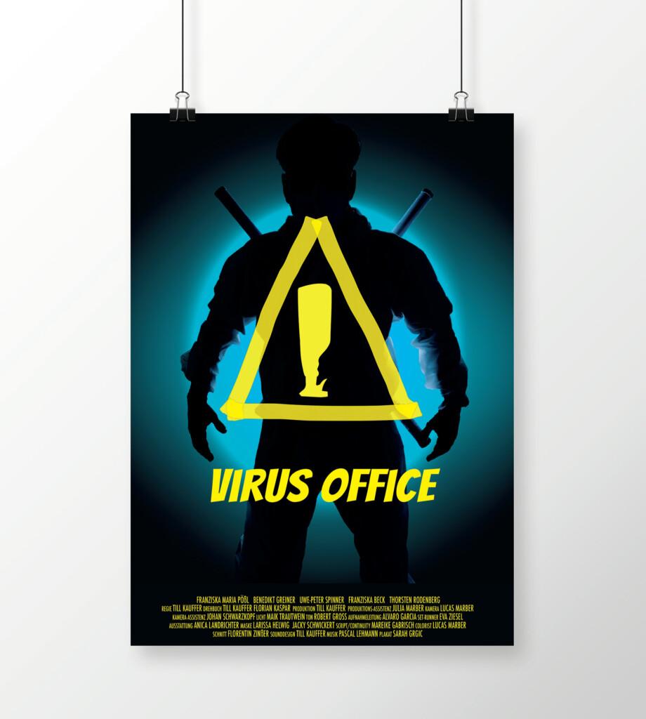 Virus Office Plakat