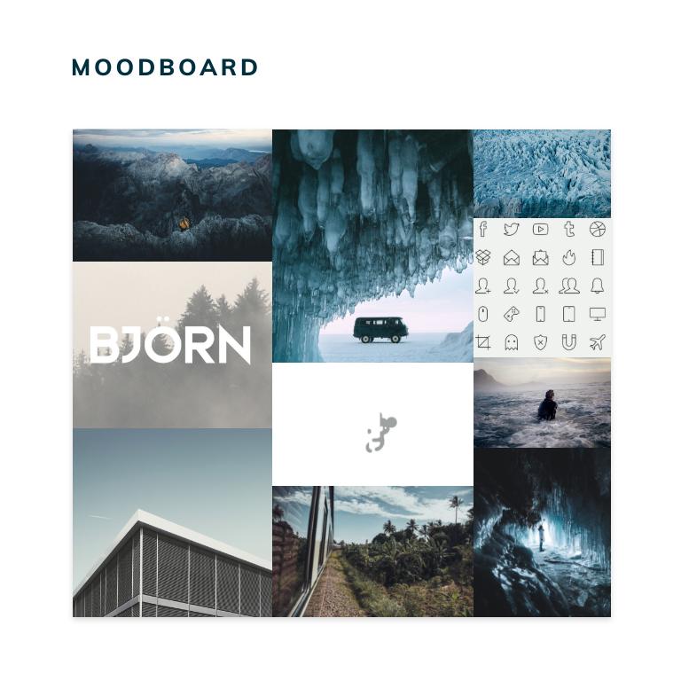 Moodboard Scambiano
